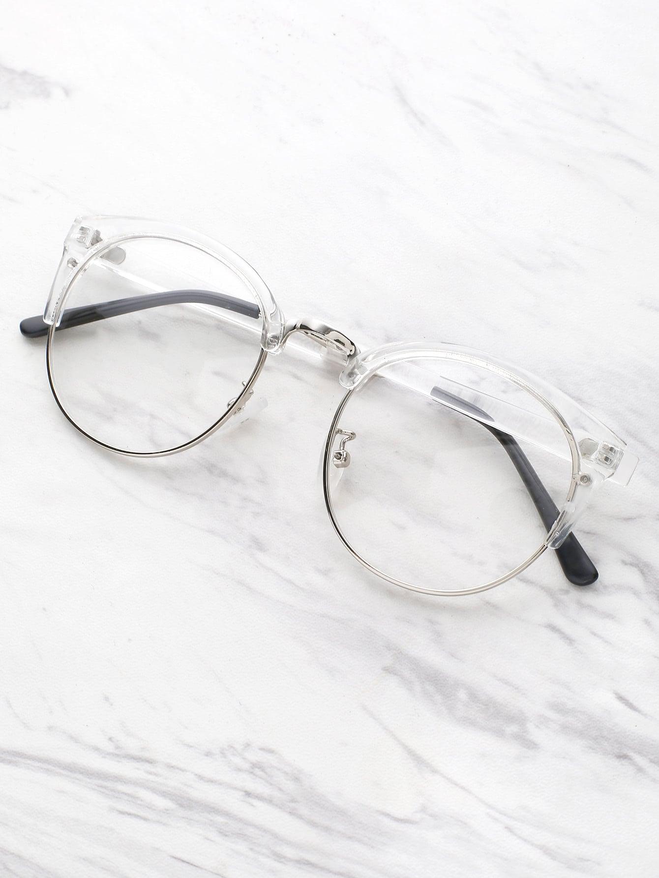sunglass170419302_2 - White Frame Glasses
