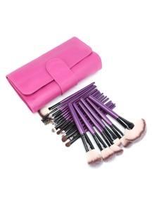 24pcs cosmetico professionale di spazzola di trucco con il sacchetto
