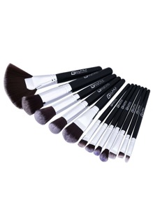 Fan Shaped Professional Makeup Brush 12pcs