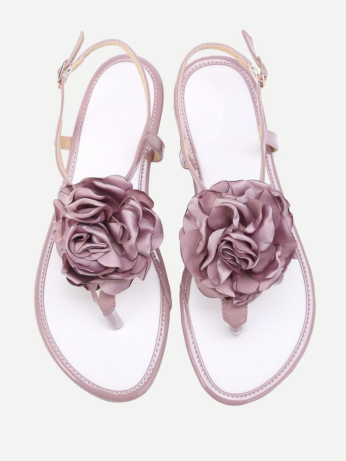 Фото Flower Toe Post Sandals. Купить с доставкой