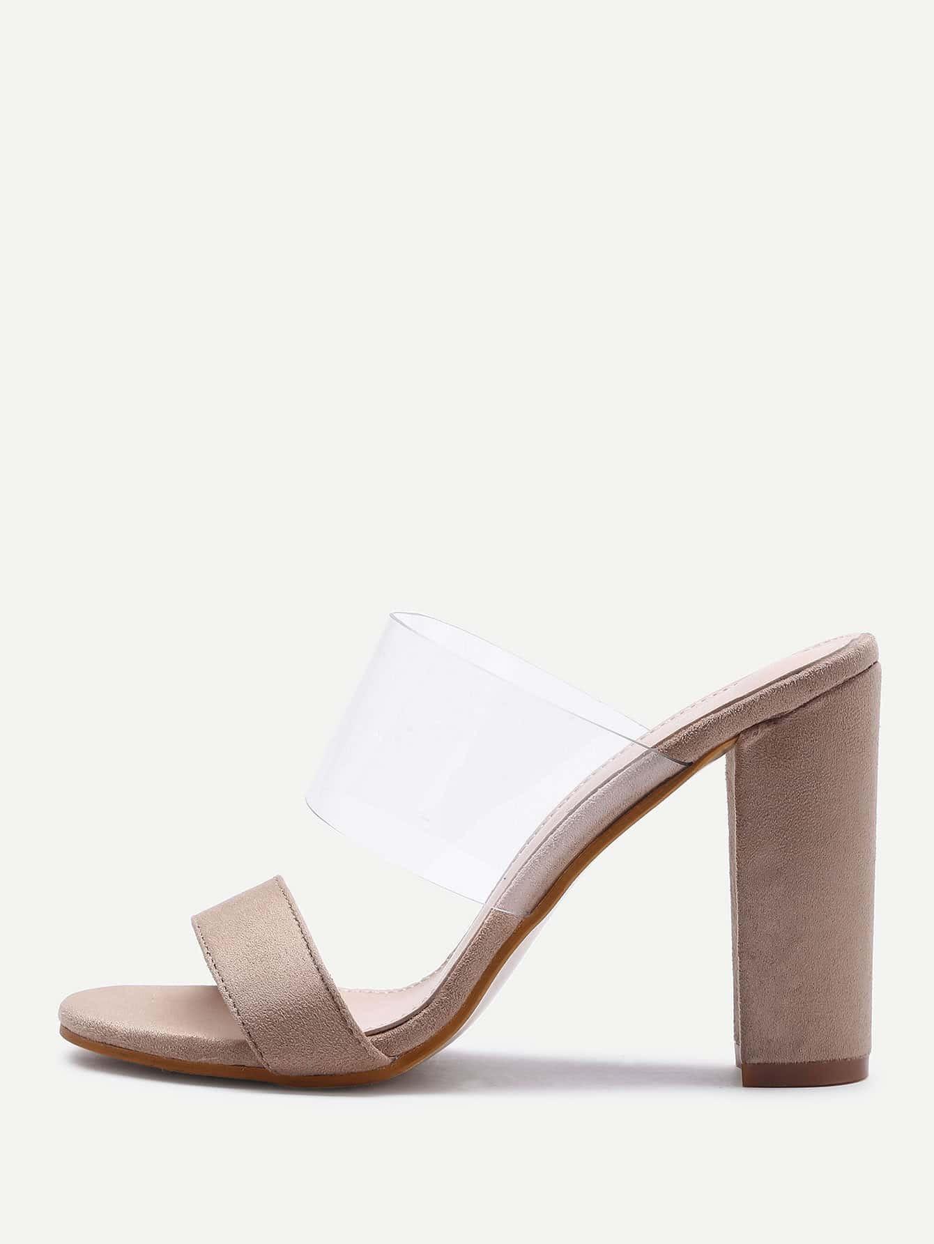 Фото Clear Design High Heeled Sandals. Купить с доставкой