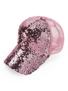 Paillettes Cappello da baseball design