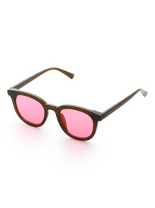 Contrast Flat Lens Sunglasses
