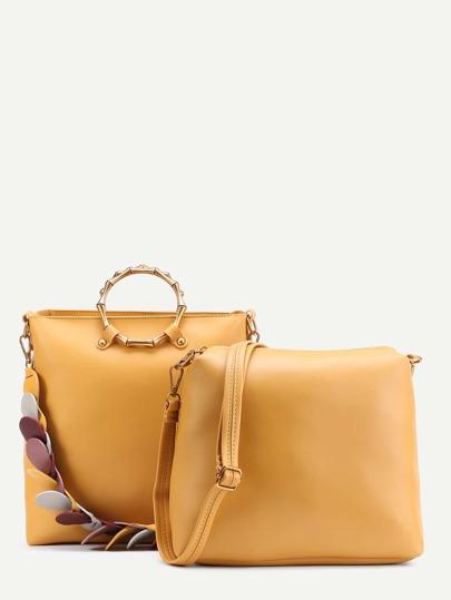 Petal Strap Combination Bag