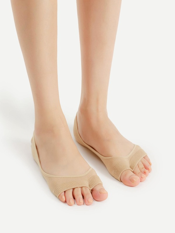 Open Toe Invisible Socks, null
