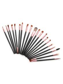 Slender Eye Brush Set 20Pcs