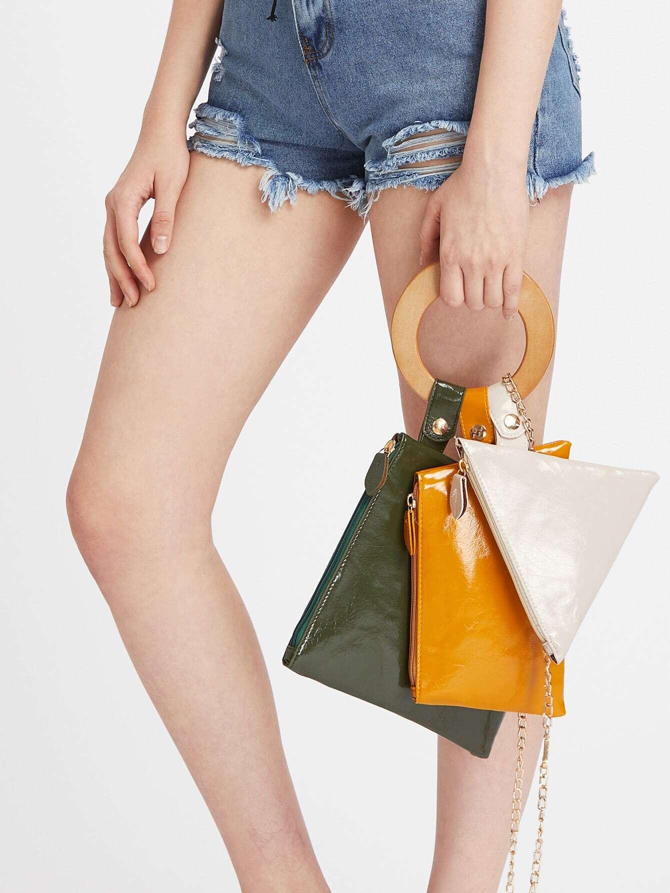 Фото Clutch Bag Set With Chain. Купить с доставкой