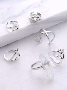 Set anillo en multi-forma