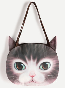 Cat Shaped Shoulder Bag