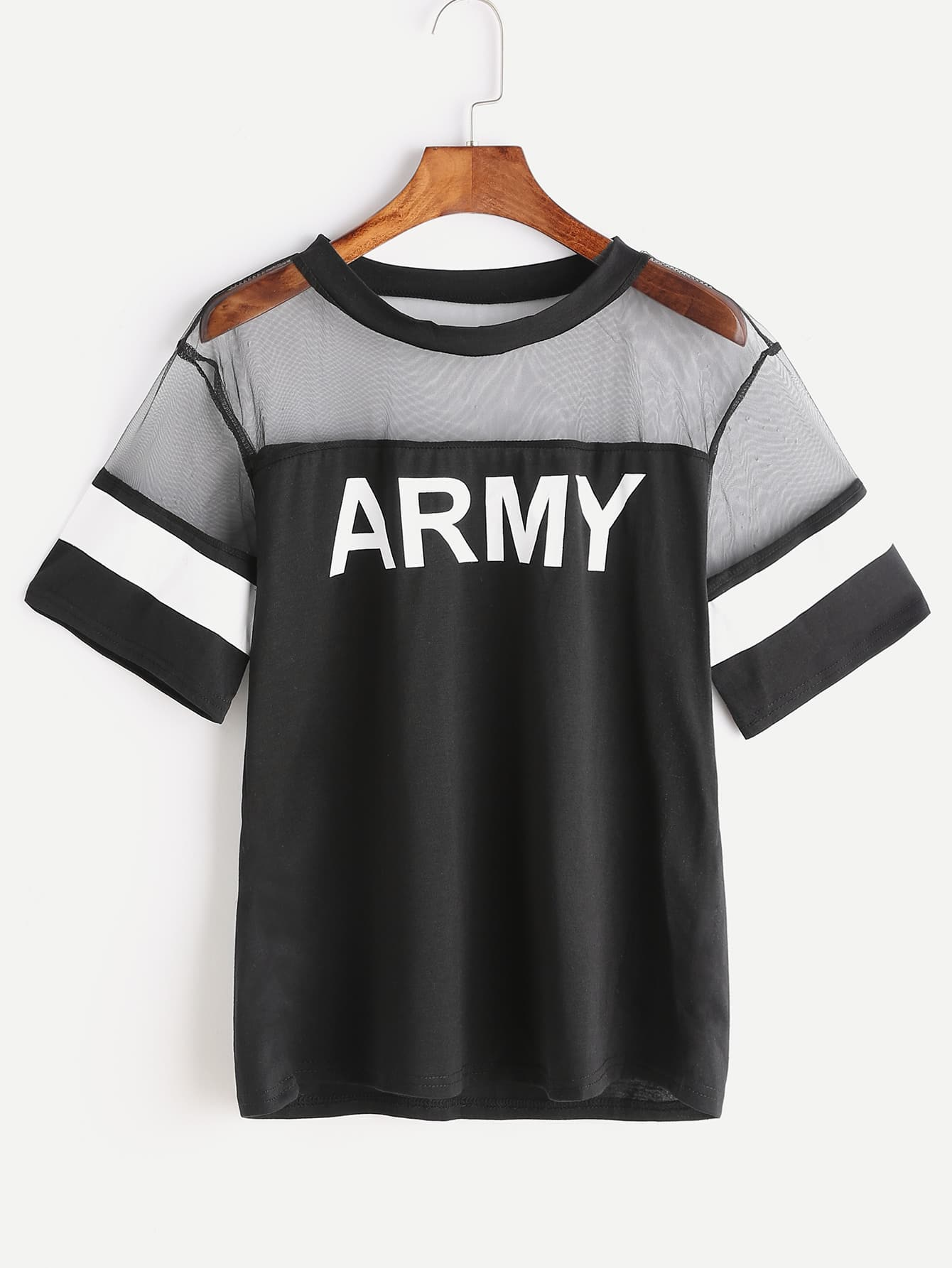 Army Print Contrast Mesh Tee 1 electric solenoid valve 220 volt water diesel normally closed ac220v
