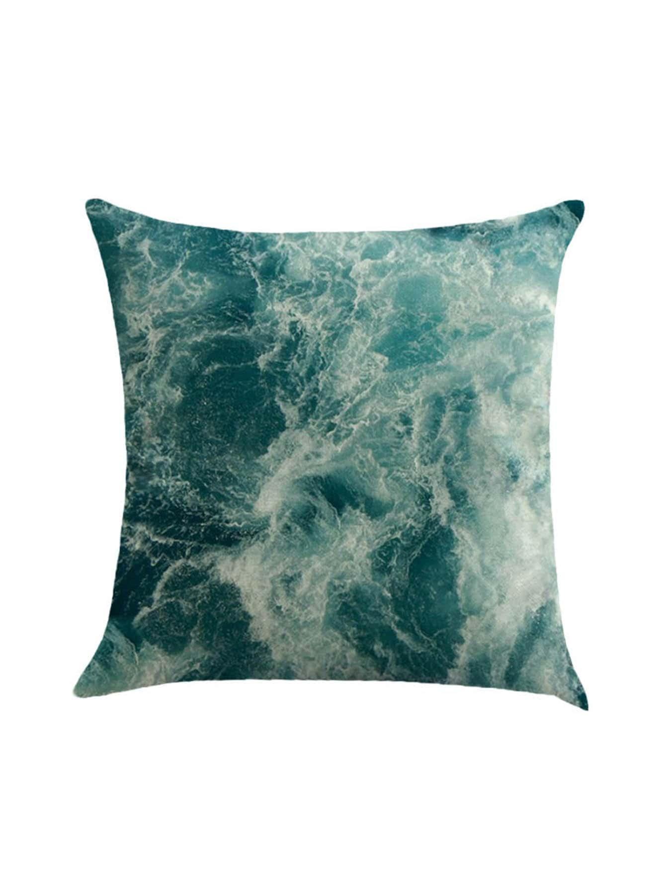 Фото Sea Print Pillowcase Cover. Купить с доставкой
