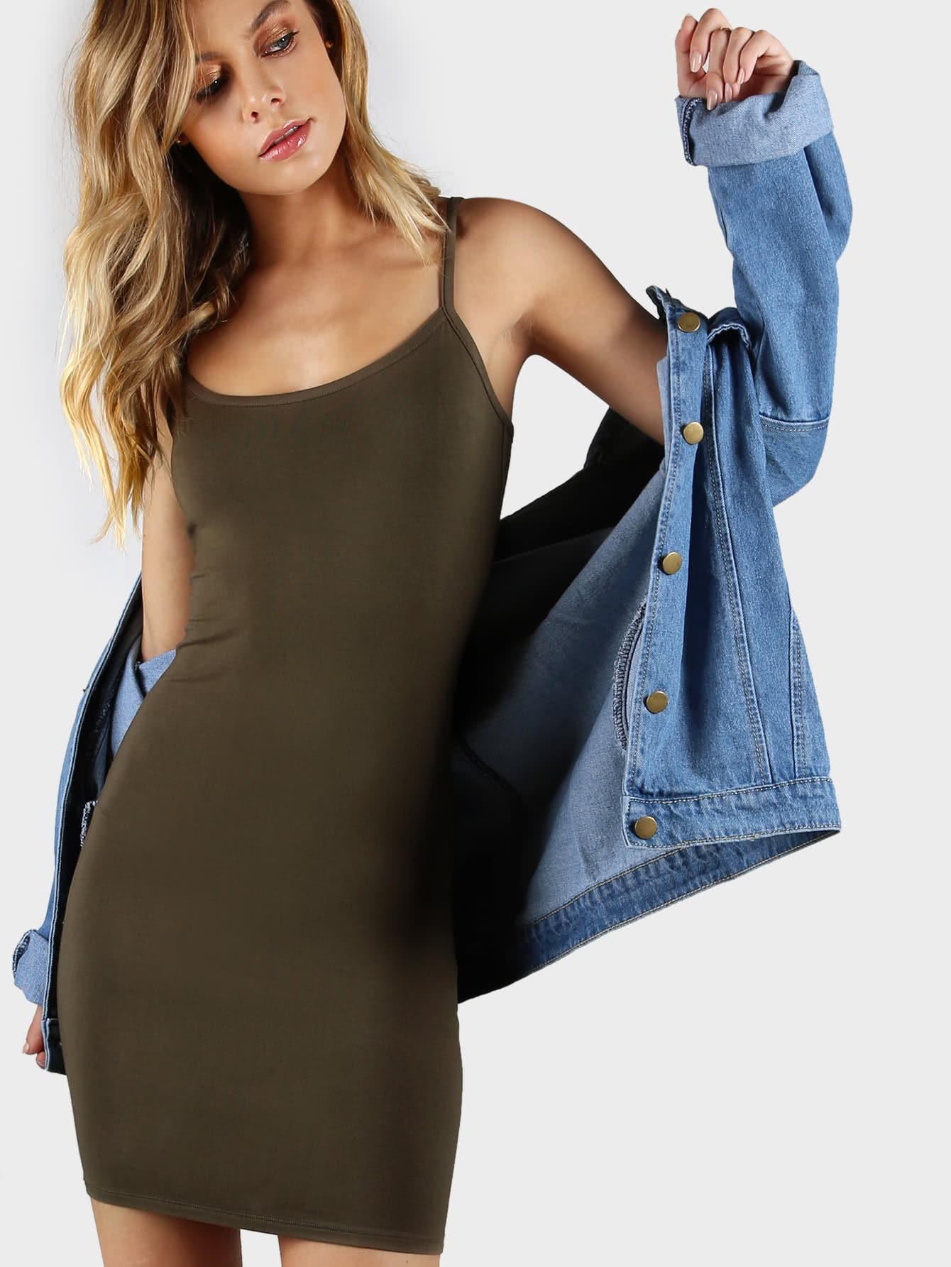Mini Cami Bodycon Dress bohemian bodycon mini dress
