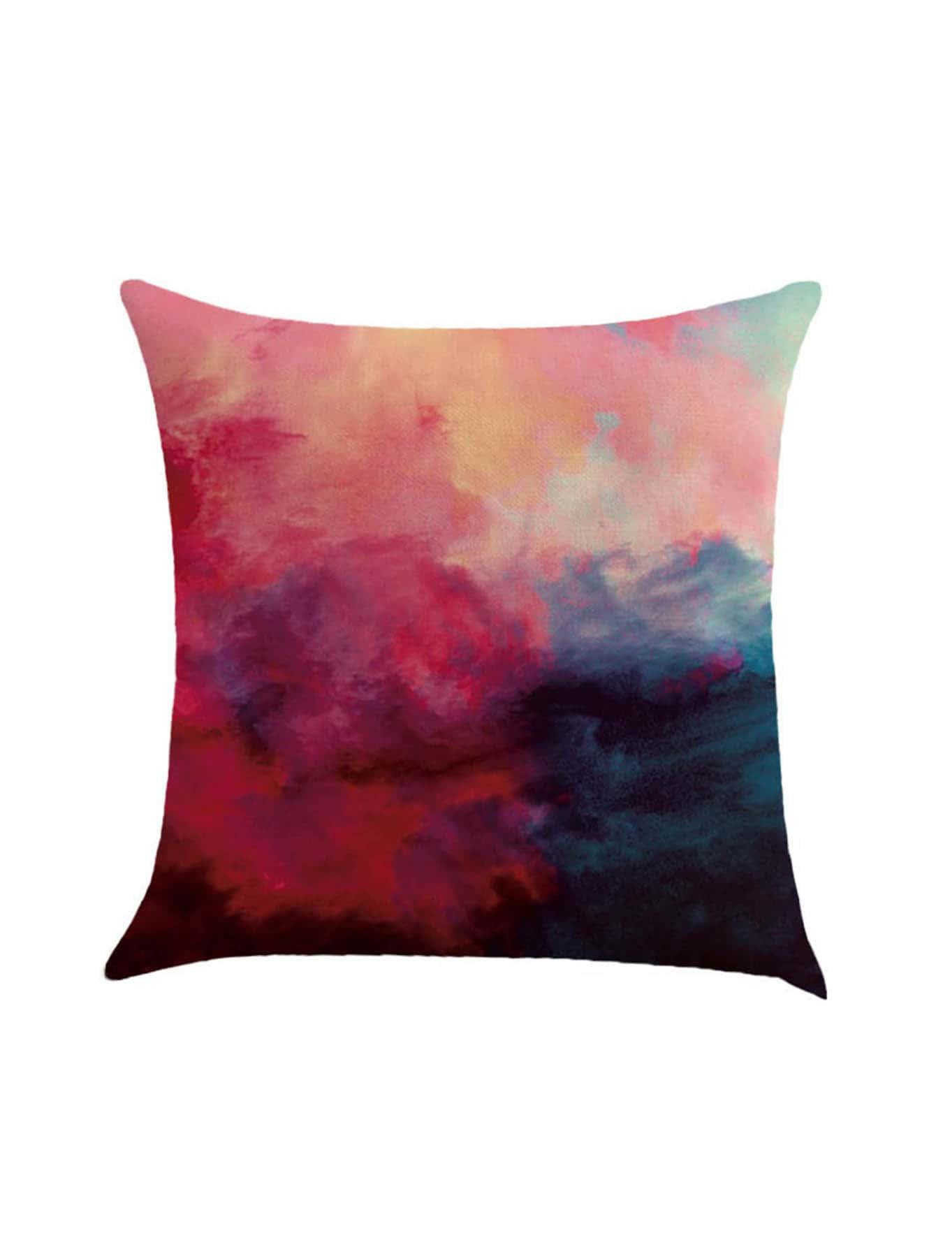 Фото Watercolor Print Pillowcase Cover. Купить с доставкой