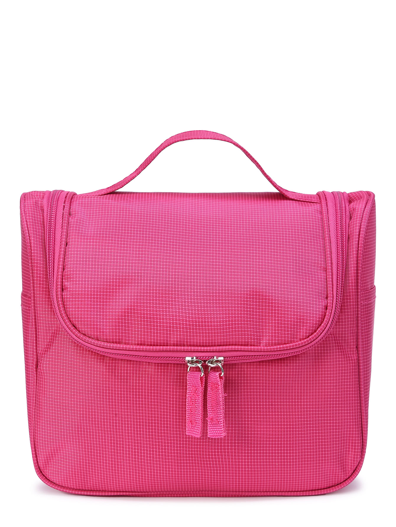 Double Zipper Nylon Make Up Bag