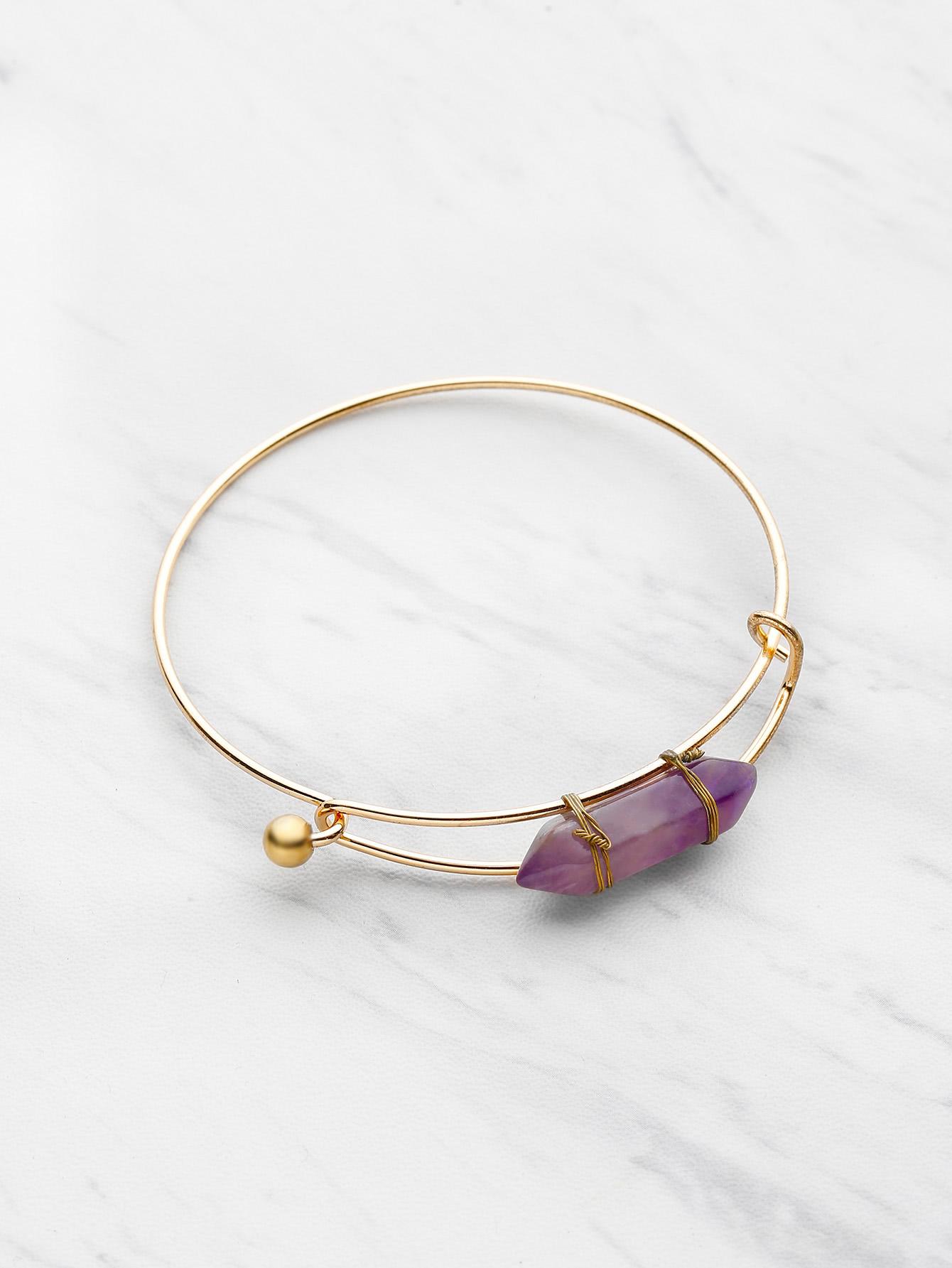 Фото Random Stone Adjustable Bracelet. Купить с доставкой