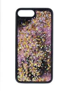 Stars Liquid Glitter iPhone 7 Plus Case