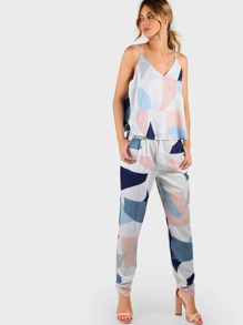 Geometric Print Multi Color Set MULTI