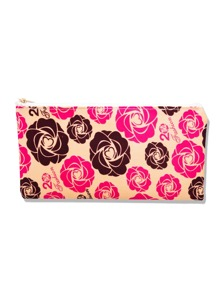 Calico Print Makeup Bag