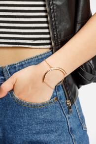 Bracelet courbe