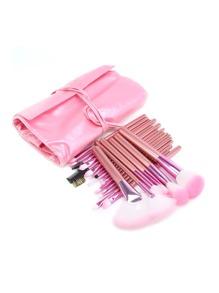 Ensemble de brosse à cosmétiques professionnel avec sac