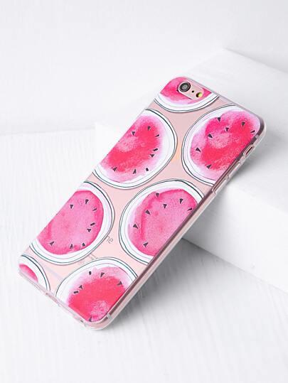Wassermelone Druck iPhone 6 Plus / 6s Plus Fall