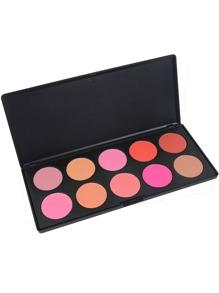 10 Color Contour Blush Palette