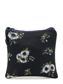 Sacchetto di stoccaggio piccolo con stampa di fiore
