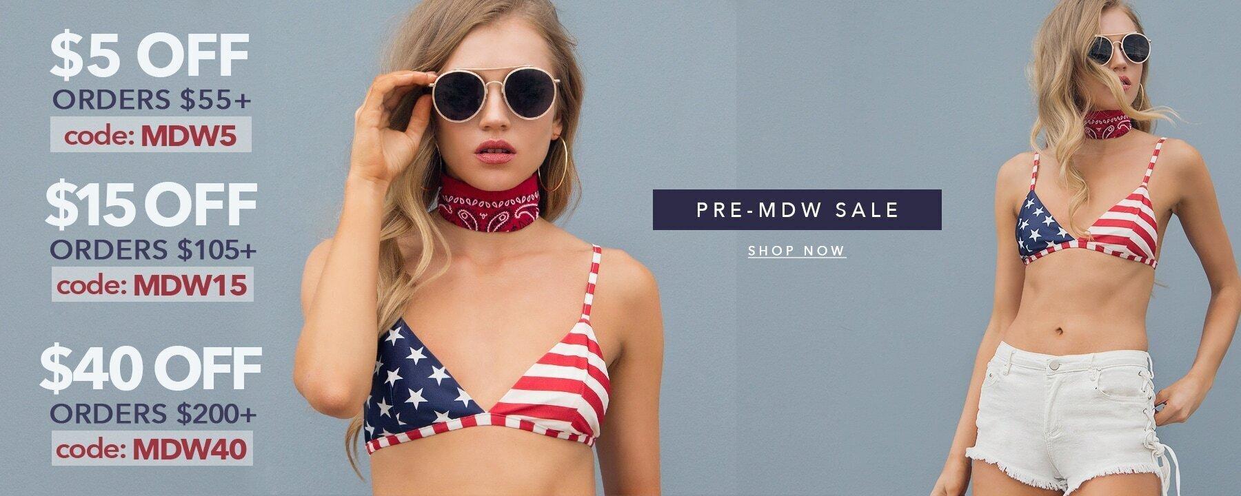 Pre-MDW Sale