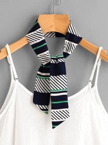 Foulard color-block