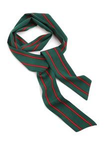 Модный тонкий шарф в полоску