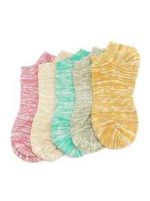 Chaussettes invisibles en maille 5 paires