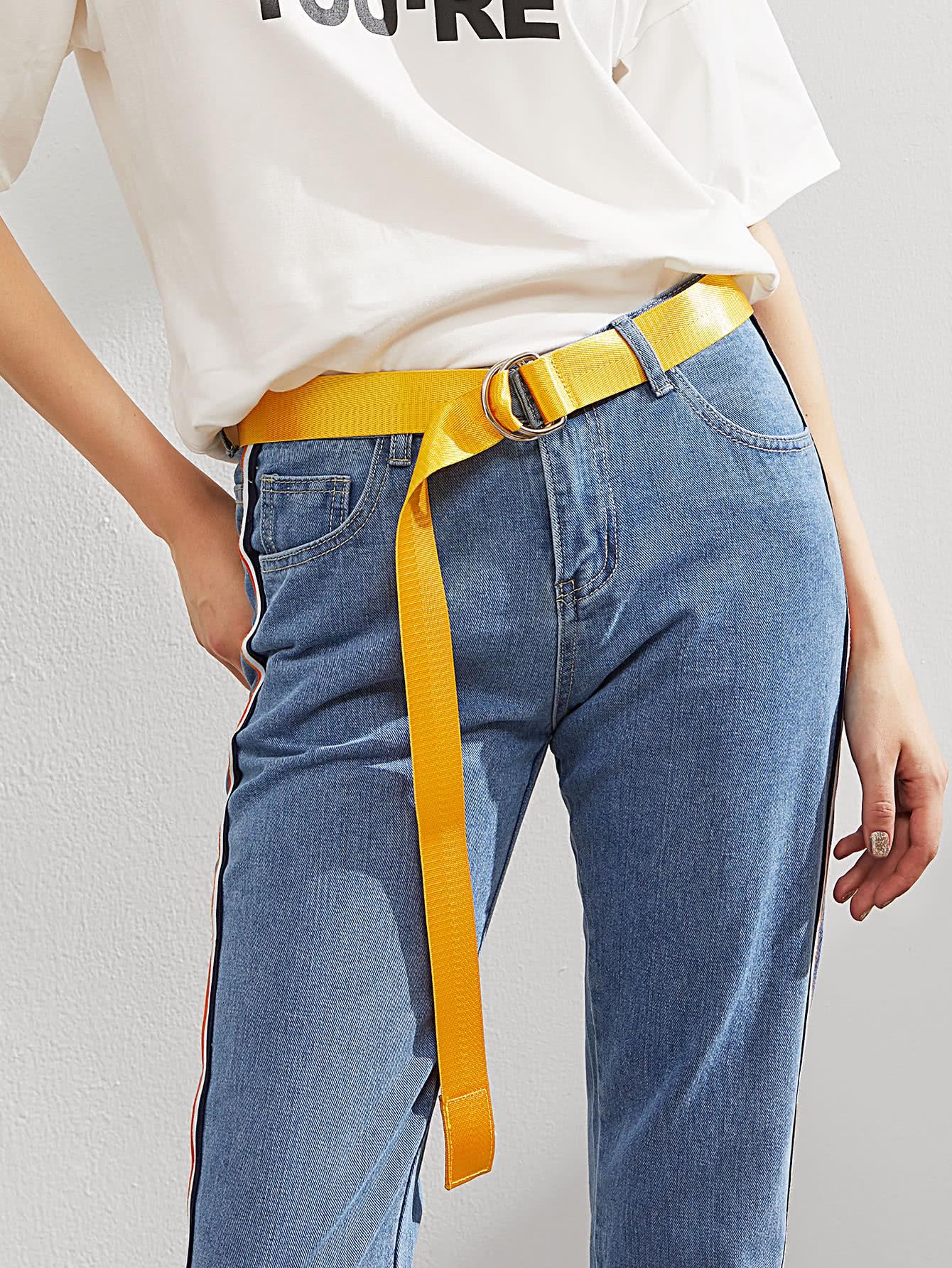 Фото Simple Belt With Double D Ring. Купить с доставкой