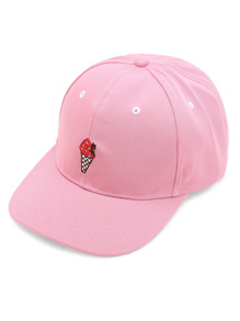 Ice Cream Embroidery Baseball Cap