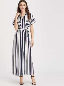 فستان الشريط كم قصير