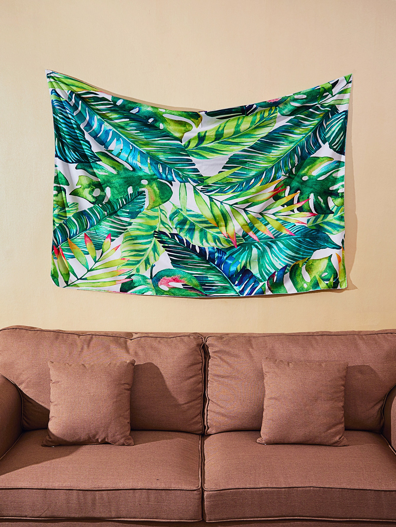 Фото Jungle Print Wall Tapestry. Купить с доставкой