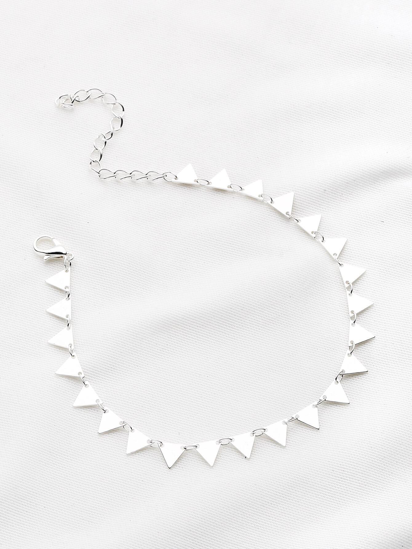 Фото Geometric Triangle Bracelet. Купить с доставкой