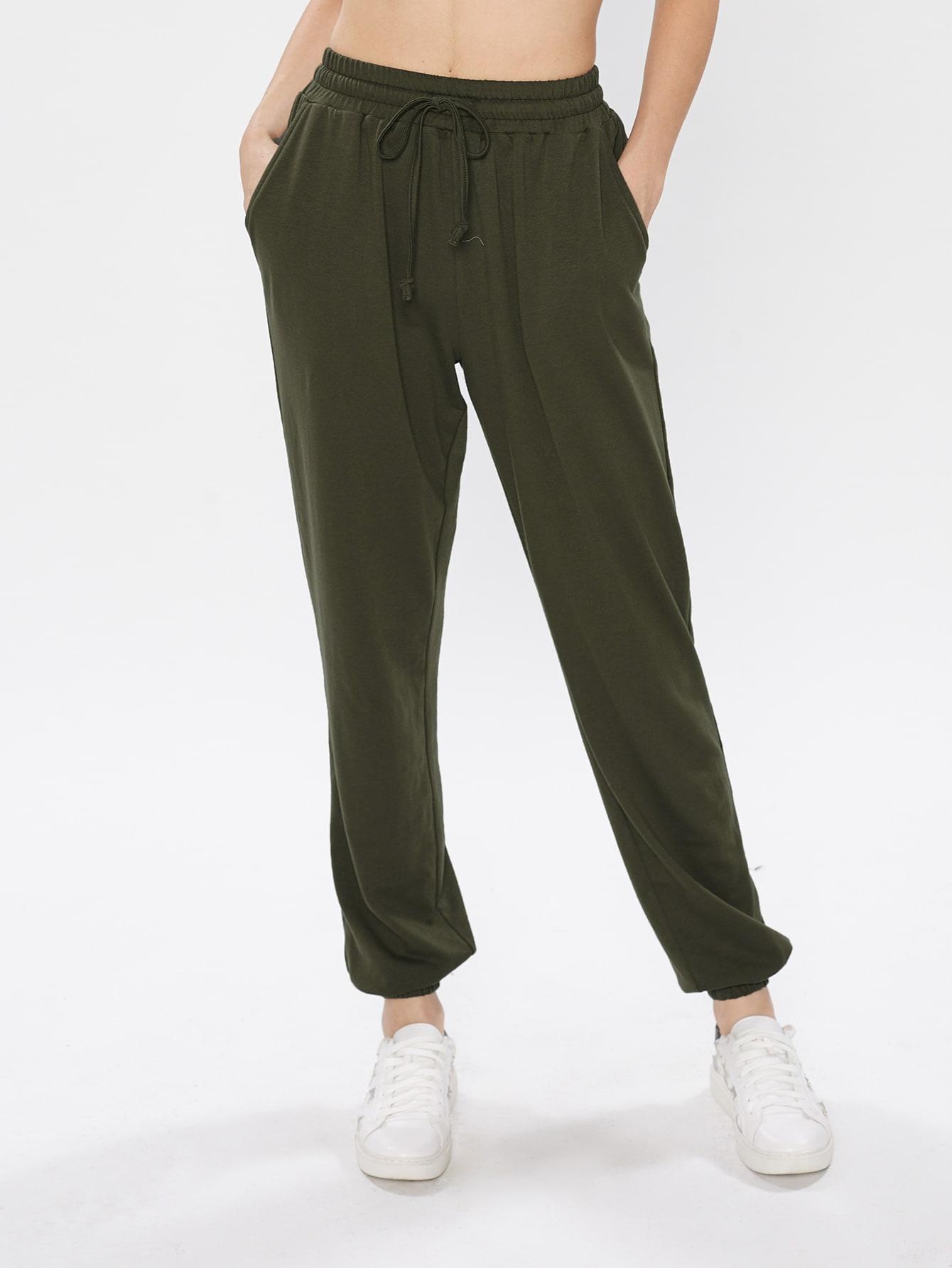 Фото Slanted Pocket Side Sweatpants. Купить с доставкой