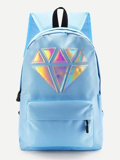 Модный рюкзак с аппликацией