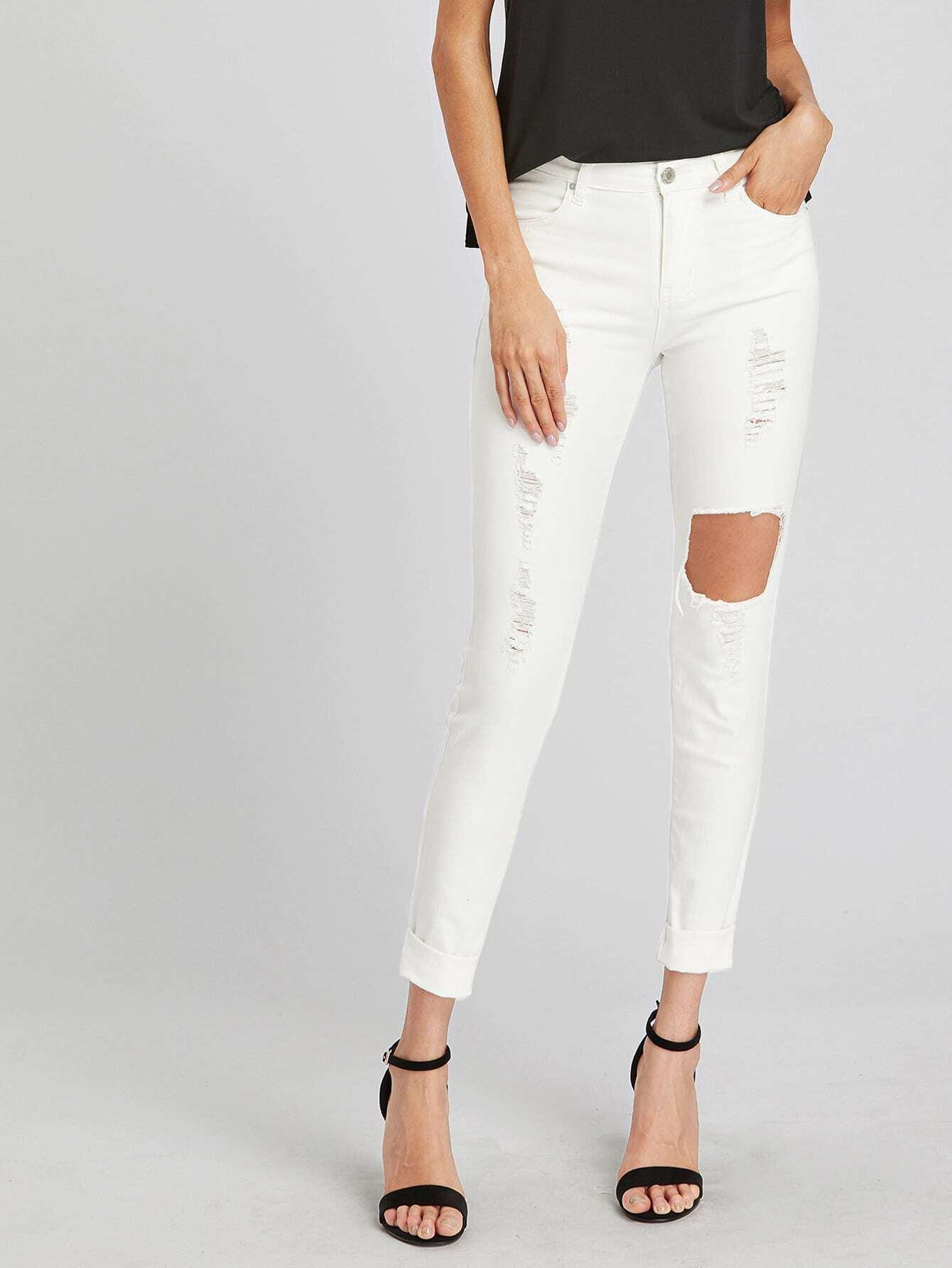 Фото Destroyed Skinny Jeans. Купить с доставкой