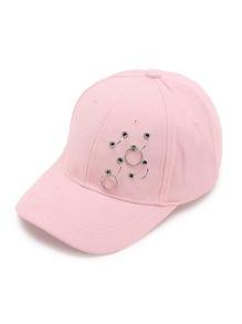 Cappellino con abbellito di ring