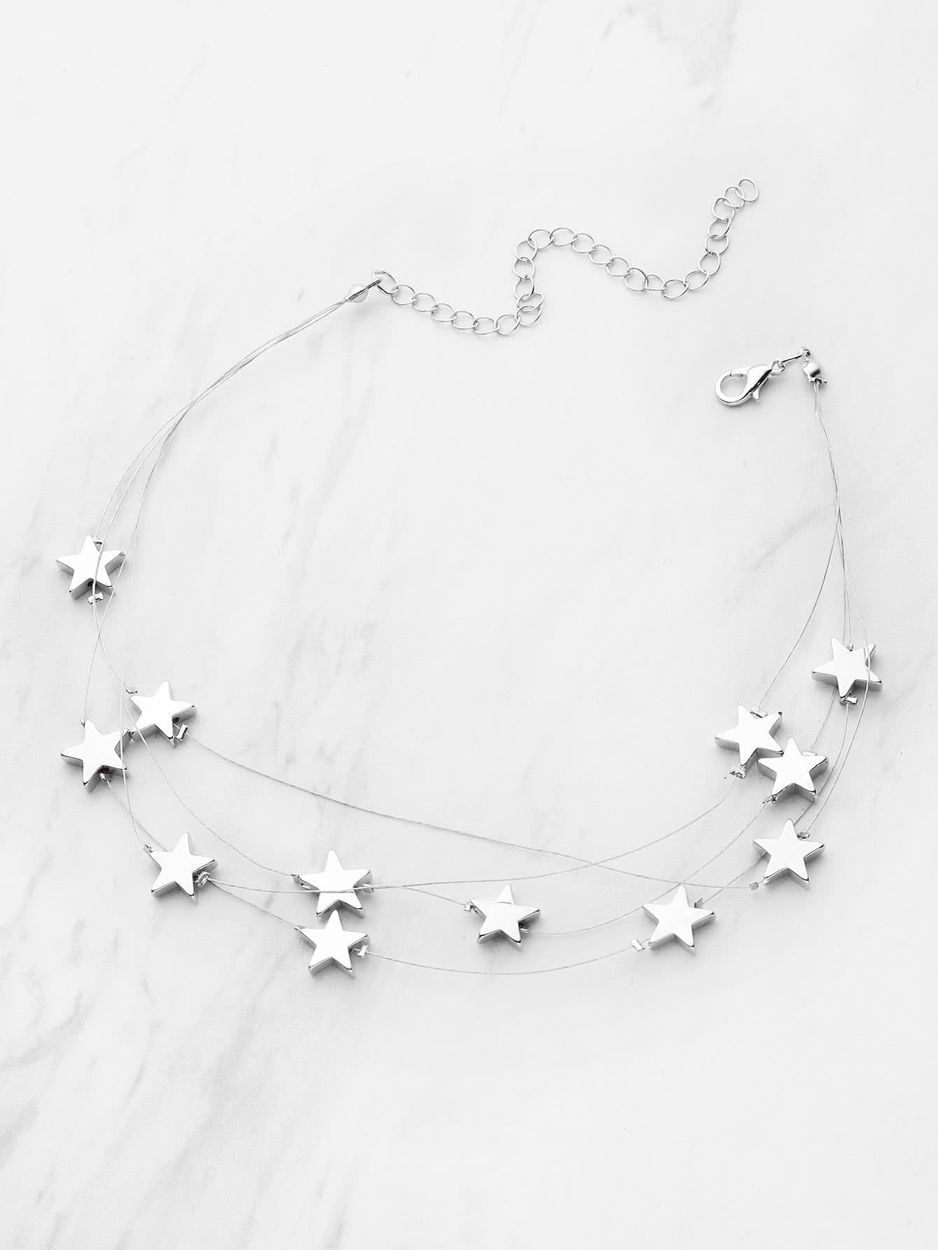 Фото Star Design Layered Necklace. Купить с доставкой