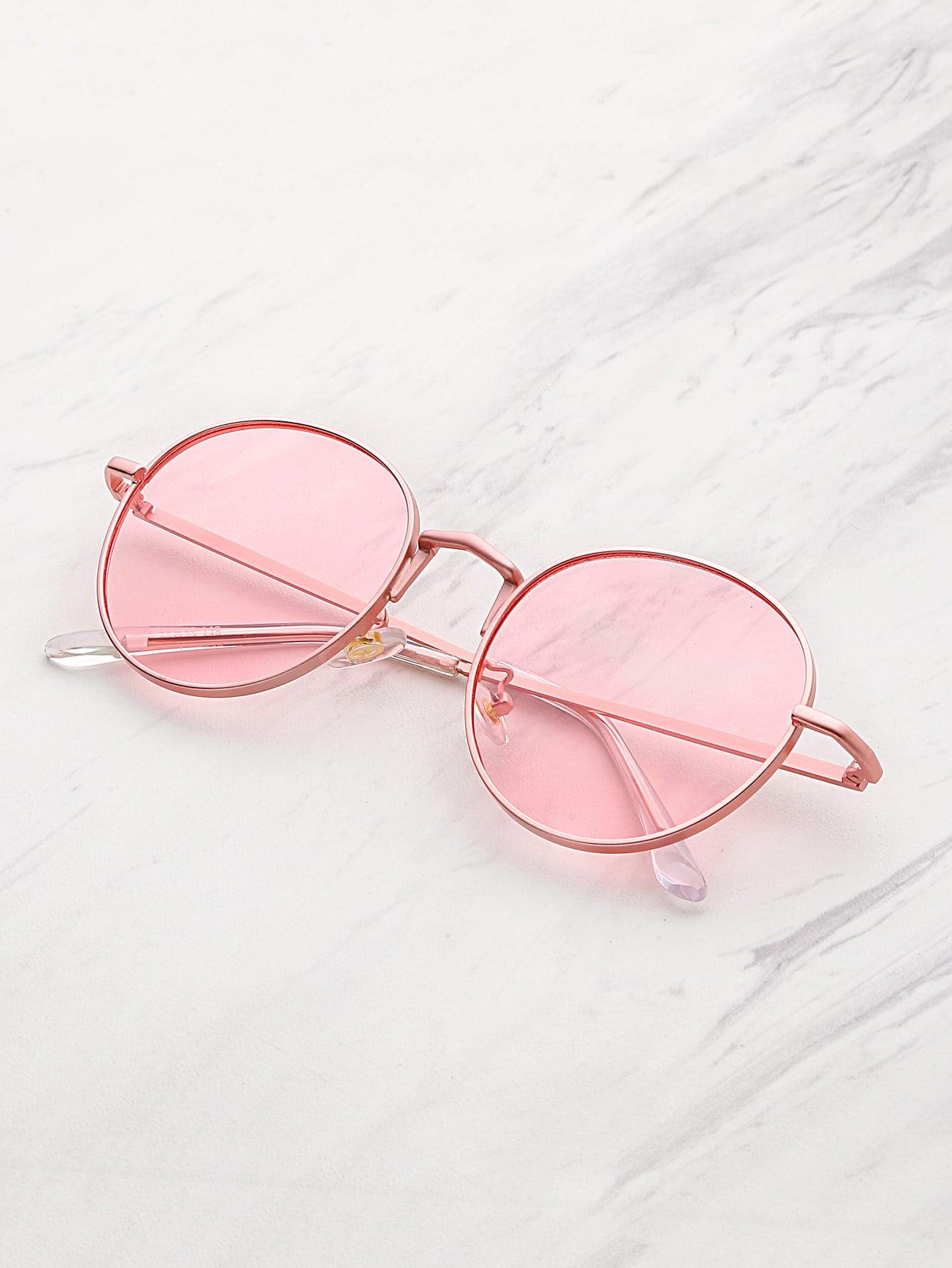 Фото Tinted Flat Lens Sunglasses. Купить с доставкой