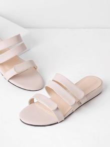 Sandalias casuales de pu