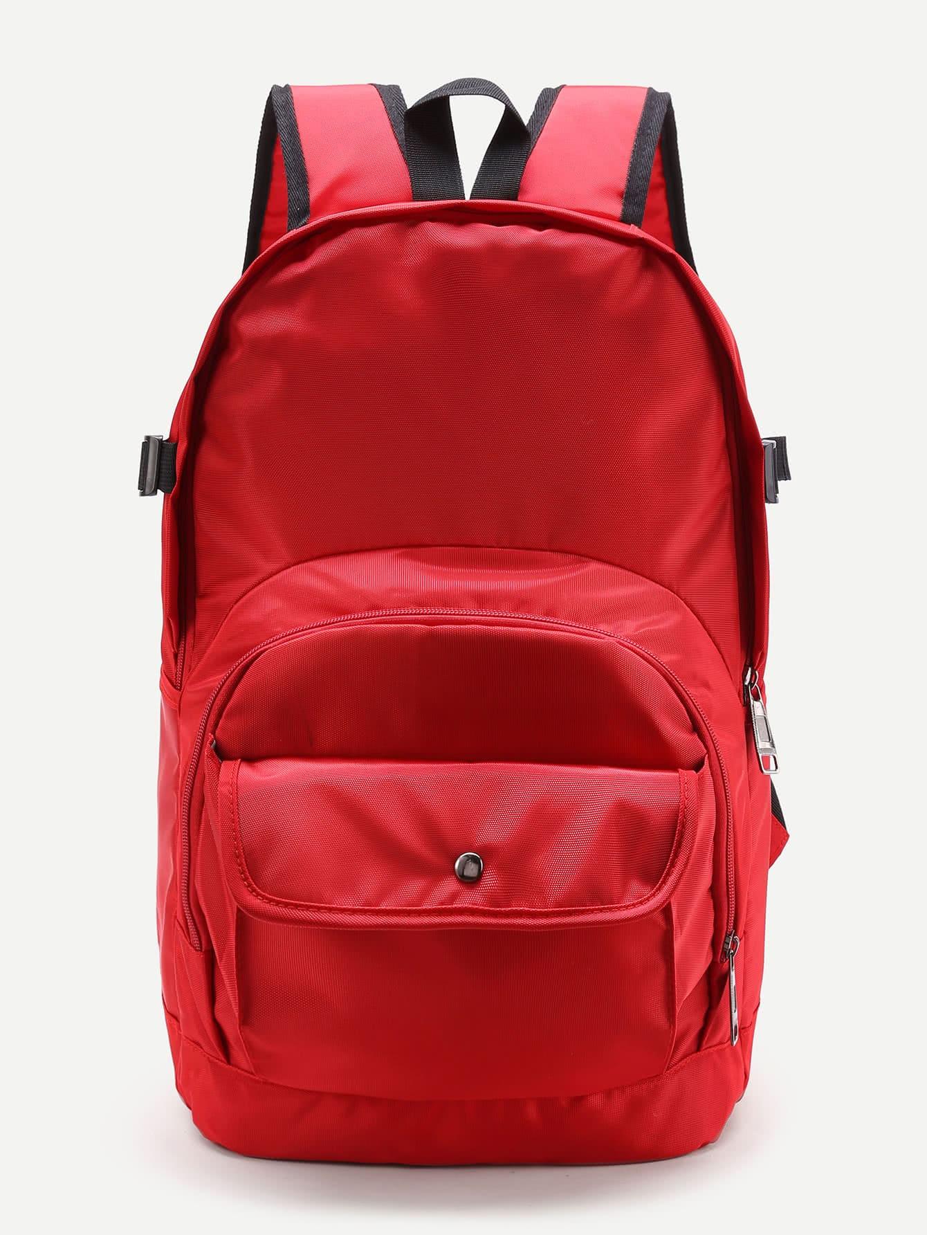 Фото Pocket Front Double Handle Backpack. Купить с доставкой