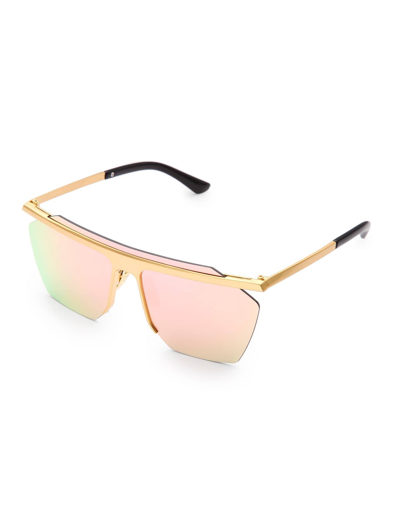 Фото Contrast Top Bar Visor Sunglasses. Купить с доставкой