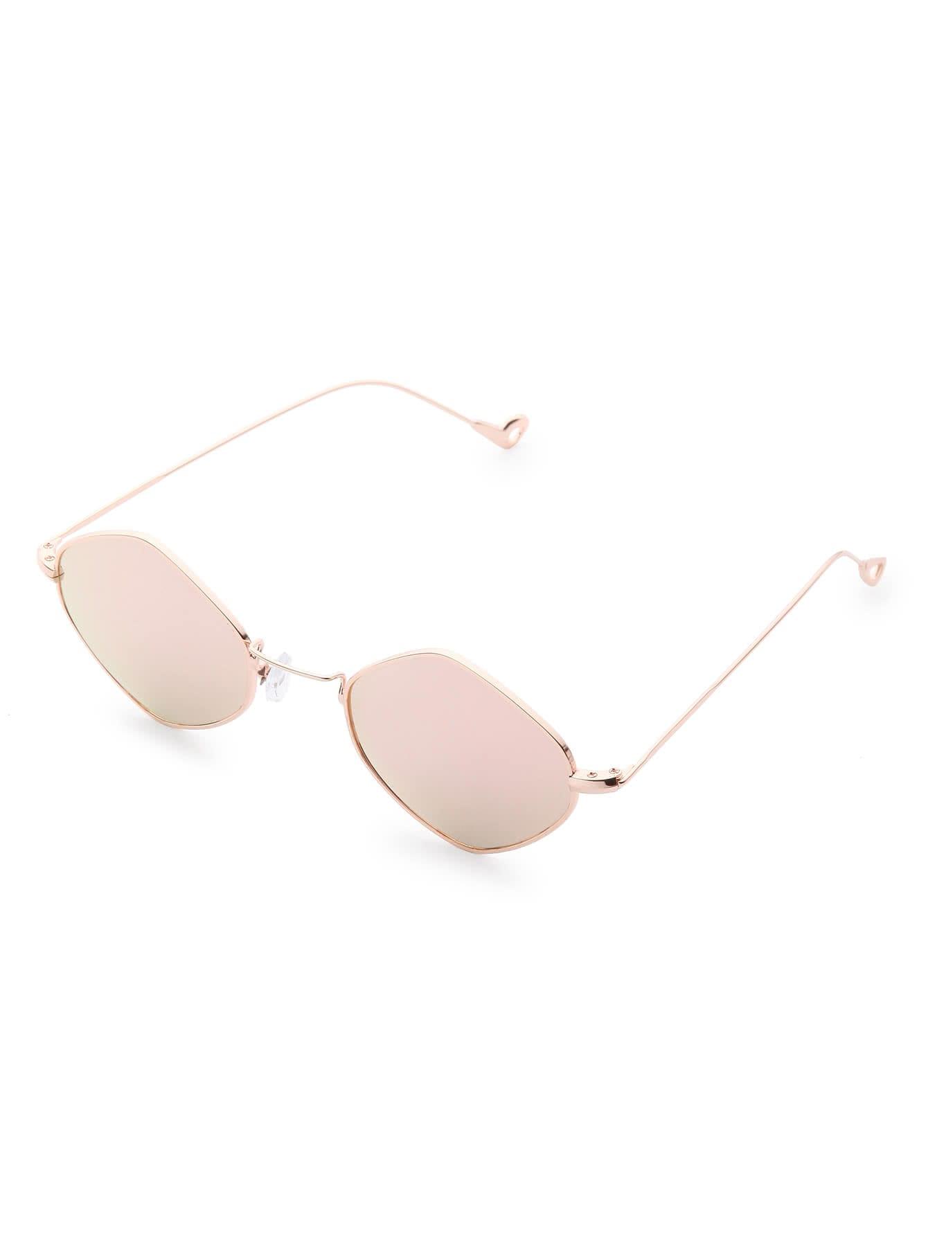 Фото Flat Lens Asymmetrical Sunglasses. Купить с доставкой