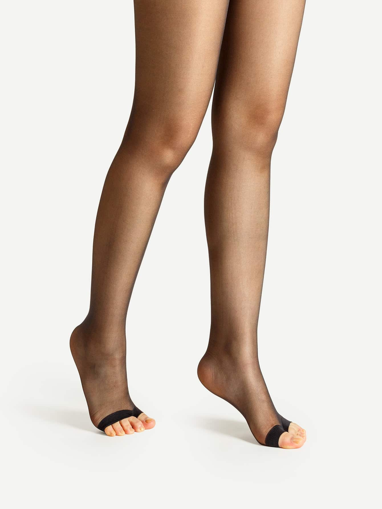 """""""You need to find tights so it looks like you're doing it deliberately, not like you forgot you were wearing open-toe shoes. It's about purpose and deliberation."""" And size does matter."""