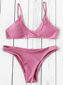 Sets de bikini sexy con diseño de costura
