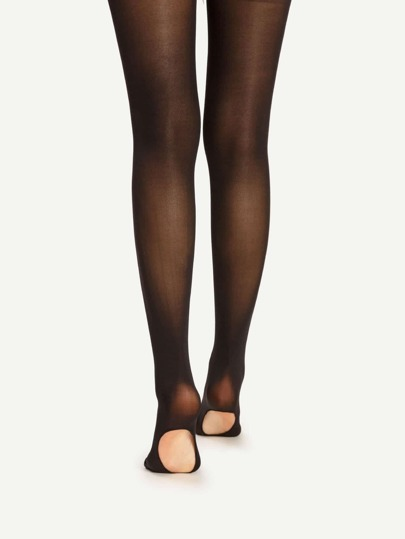 Cut Out Sole Tights