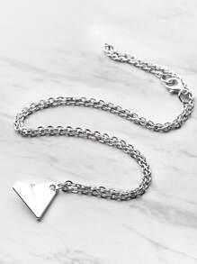 Collier pendentif en métal